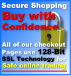Buy with Confidence 128-Bit Secure