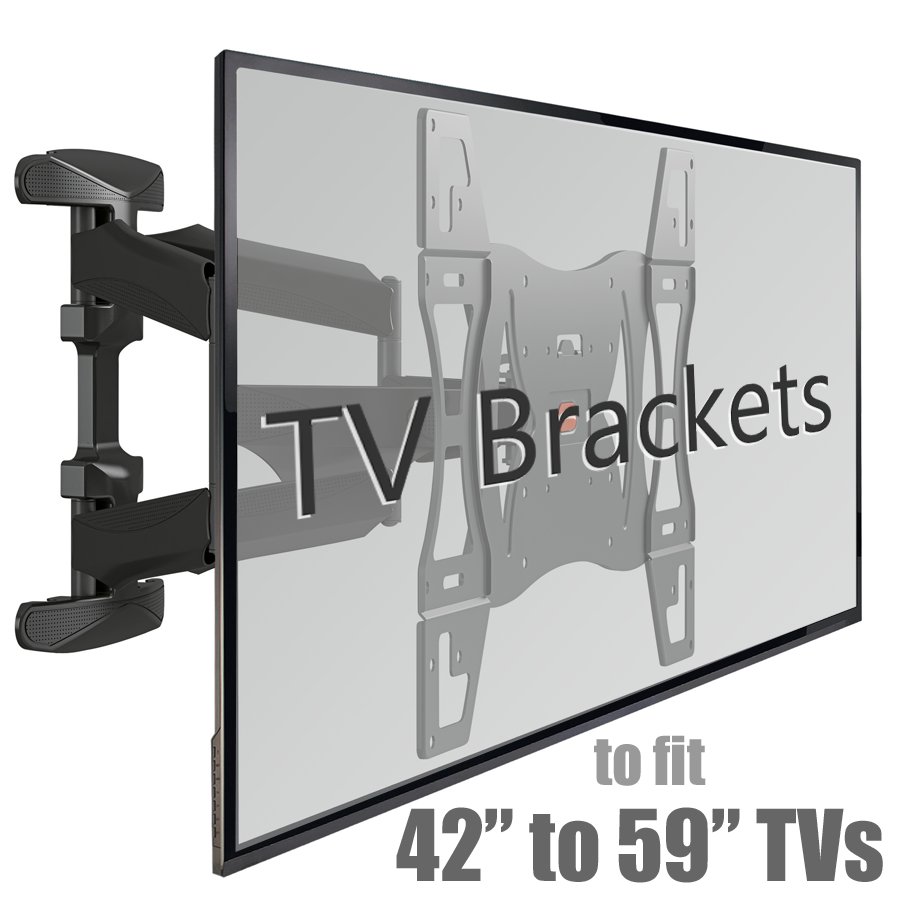 Brackets to fit 42 to 59 inch Tvs
