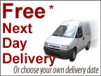 Next Day Delivery Options or Choose your own delivery date