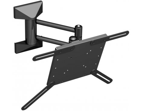 """Universal Pull out, Tilt and Turn Bracket for 21\"""" to 37\"""" TVs"""