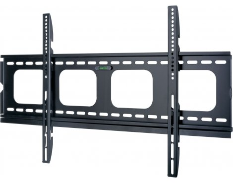 Black Super Slim Universal Fixed Bracket For TVs up to 90""