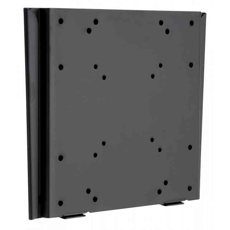 """Black Slim Fitted Wall Bracket For TVs From 15\"""" - 40\"""""""