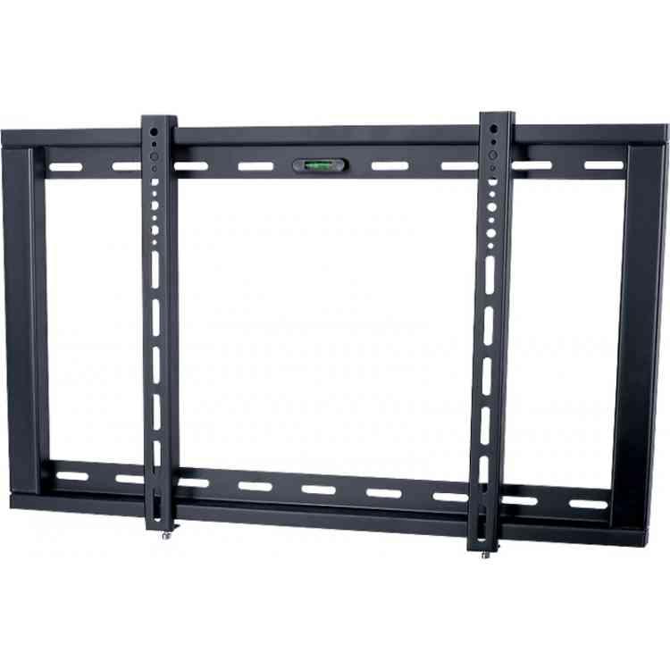 "Black Universal Flat Bracket For 42\"" to 65\"" TVs"