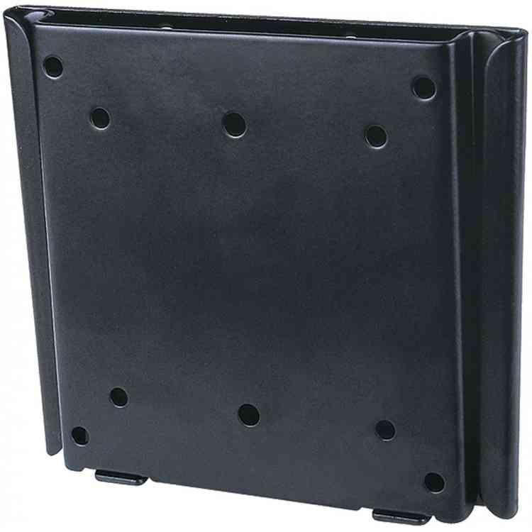 """Black Multi-VESA Flat Wall Plate for TVs up to 30\"""""""