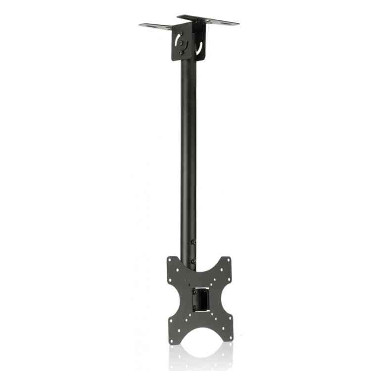 "ValuBrackets Black Telescopic TV Ceiling Mount For Up to 42"" TV"