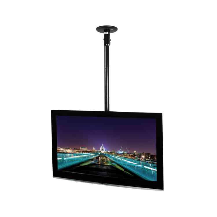 B-Tech 1800mm Tilting Ceiling TV Mount System - Custom