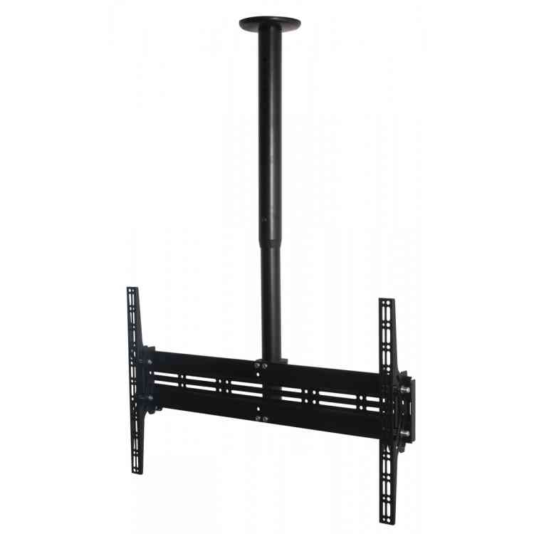 B-Tech Flat Screen Ceiling Mount with Adjustable Drop and Tilt