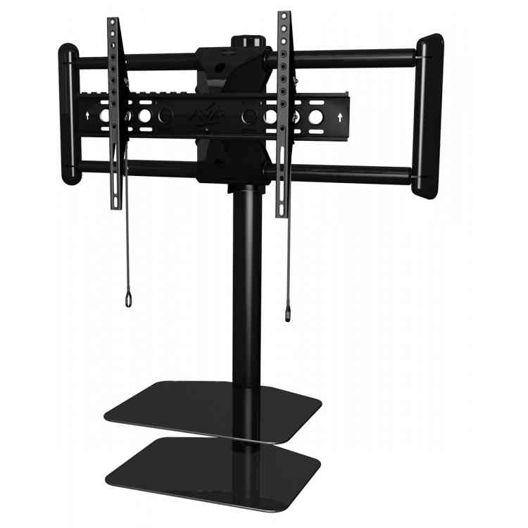 AVF ZSL5502 Cornermount corner TV mounting solution with floating shelves