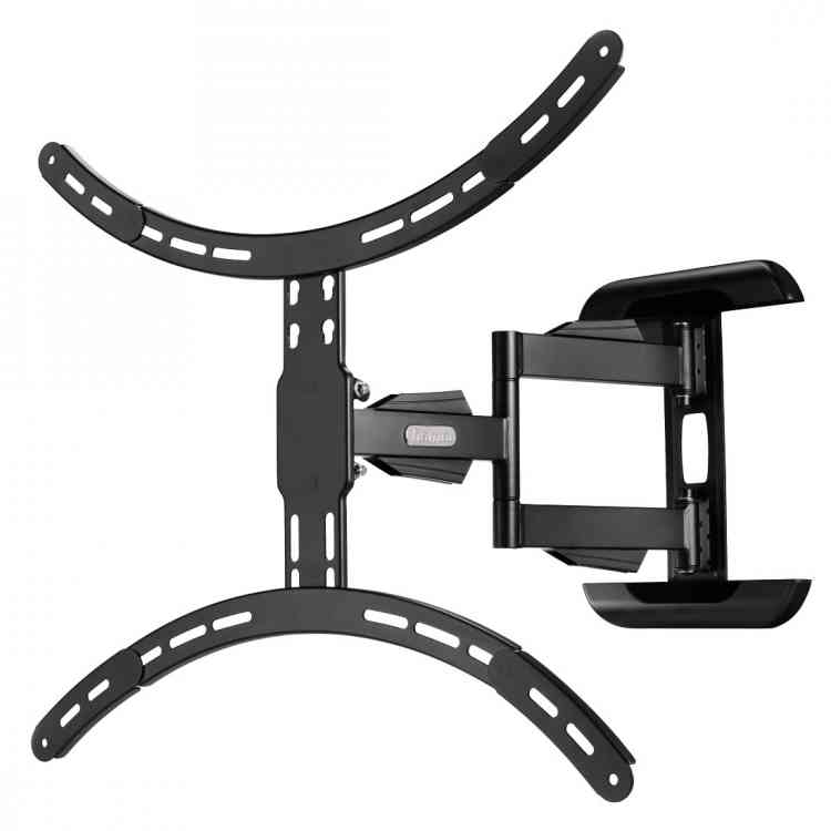 "Hama Full Motion Cantilever Wall Bracket For TVs Up To 37"" - 65\"" - Black"