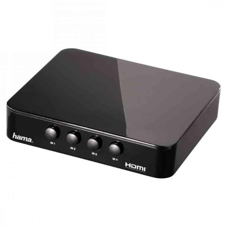 Hama G-410 HDMI Switching Console, 4 ports