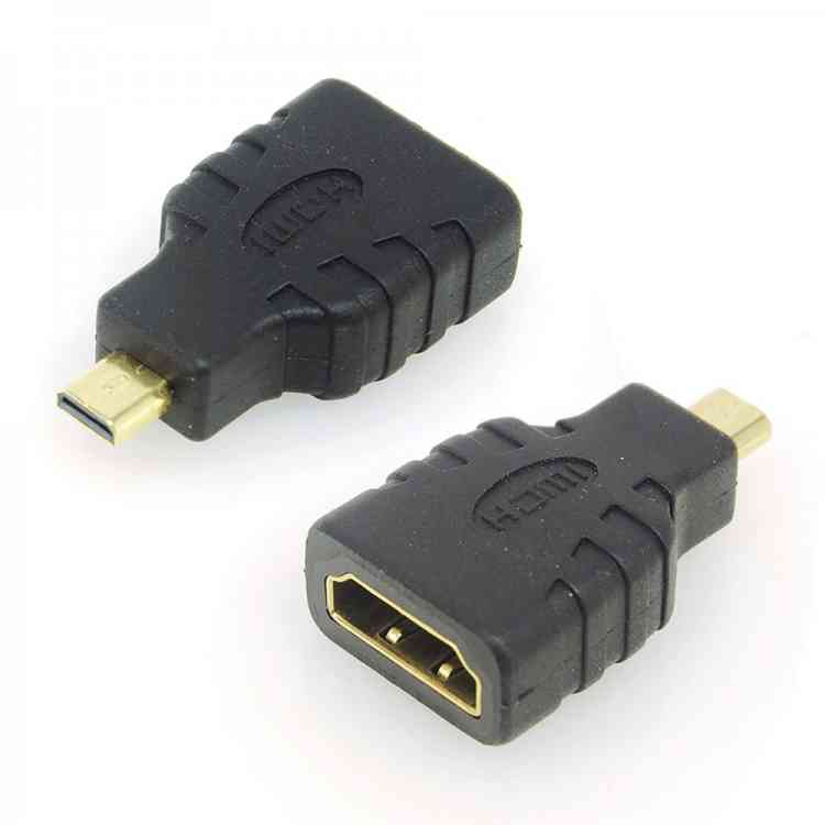 ValuConnect HDMI Adapter - Male Micro-HDMI to Female HDMI