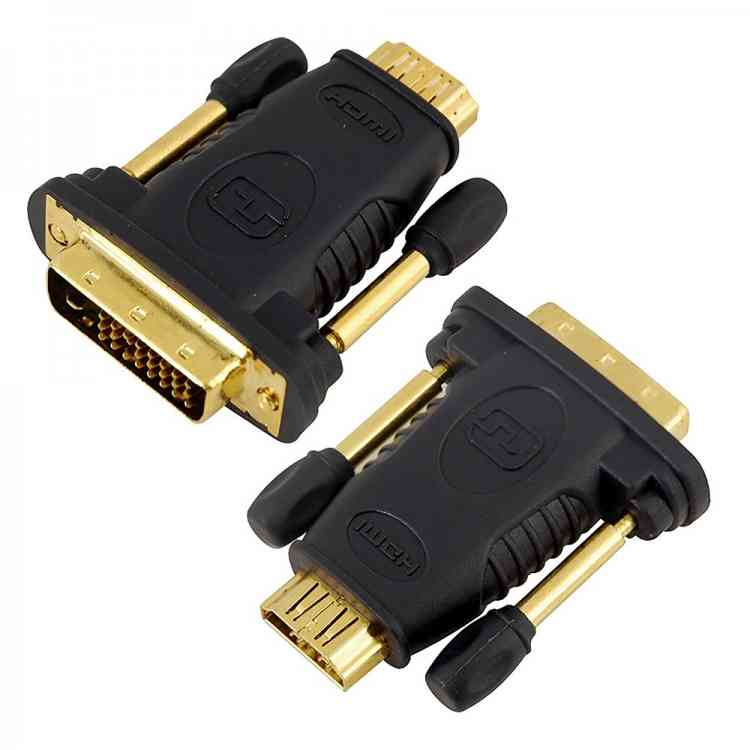 Lloytron HDMI Adapter - Female HDMI to DVI-D Male