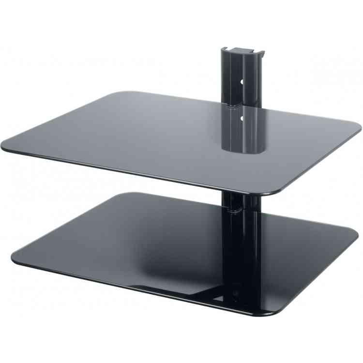 AVF Universal Double Equipment Shelf - Black