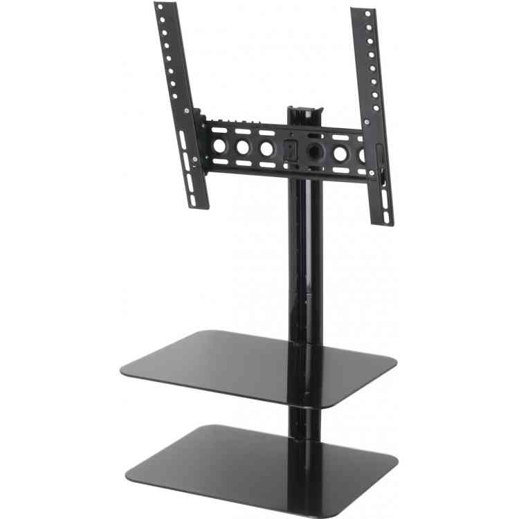 "AVF ESL422B Universal All in One Tilt and Turn TV Bracket with Shelves for up to 47\"" TVs"