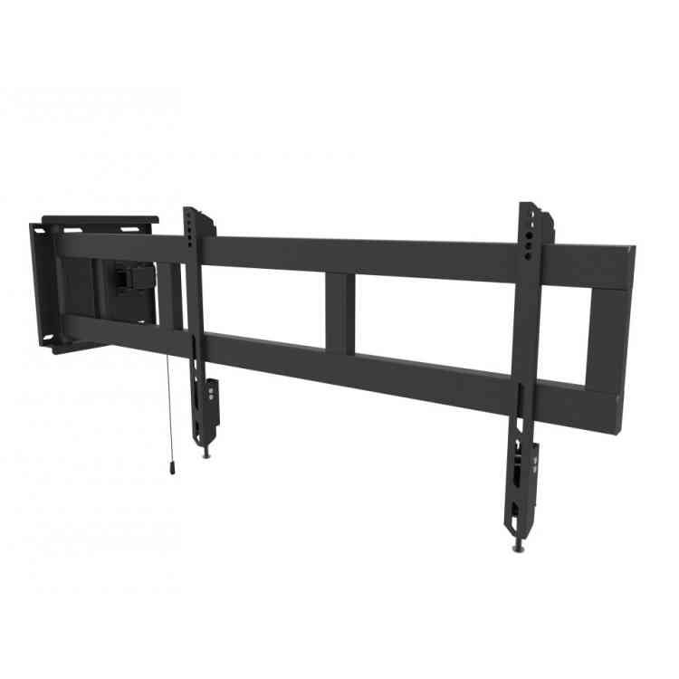 "Universal Swing Arm Cantilever TV Bracket for up to 70"" TVs"