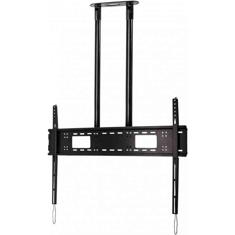 "B-Tech Extra-Large Flat Screen 3m Ceiling Mount for TVs up to 120"" - Black"