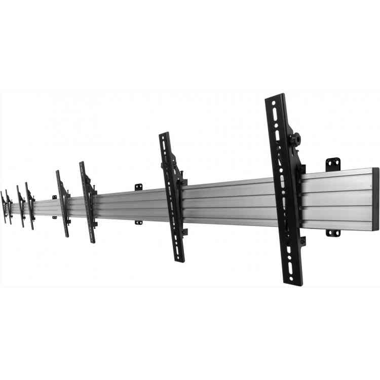"B-Tech Menu Board Mounting System for upto 5x 46\"" Screens"
