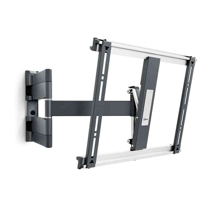 """Vogel\'s THIN 445 Extra Thin Full-Motion Wall Bracket for 26\"""" to 55\"""" - Black"""