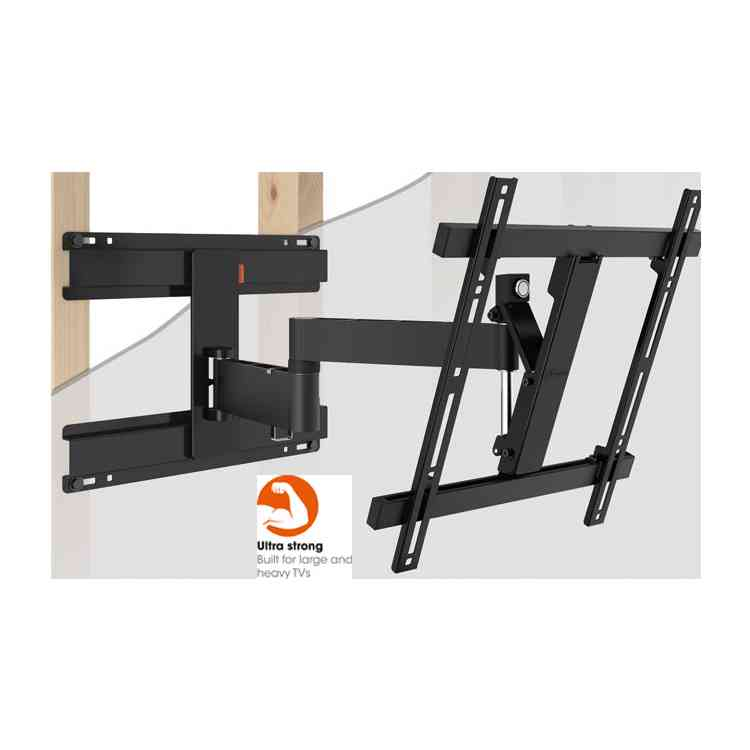 "Vogel\'s Wall 2246 Extra Thin Full-Motion Wall Bracket for 32"" to 55\"" TV\'s - Black"