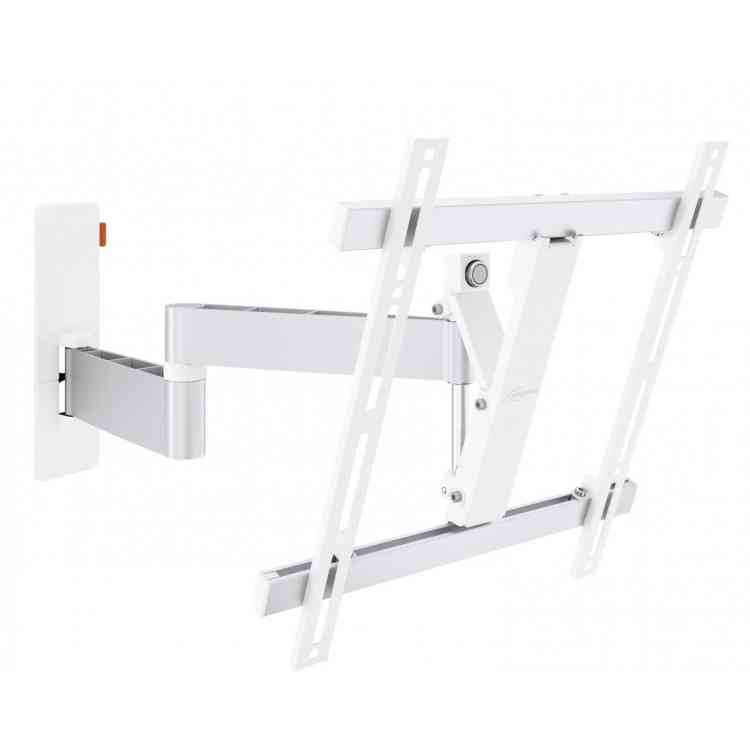 """Vogel\'s Wall 3245 Extra Thin Full-Motion Wall Bracket for 32\"""" to 55\"""" TV\'s - White"""