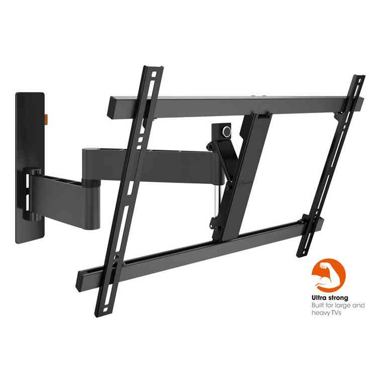 "Vogel\'s Wall 3345 ExtraThin Full-Motion Wall Bracket for 40"" to 65\"" TV\'s - Black"