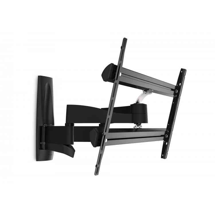 """Vogel\'s Wall 3350 Extra Thin Full-Motion Wall Bracket for 40\"""" to 65\"""" TV\'s - Black"""