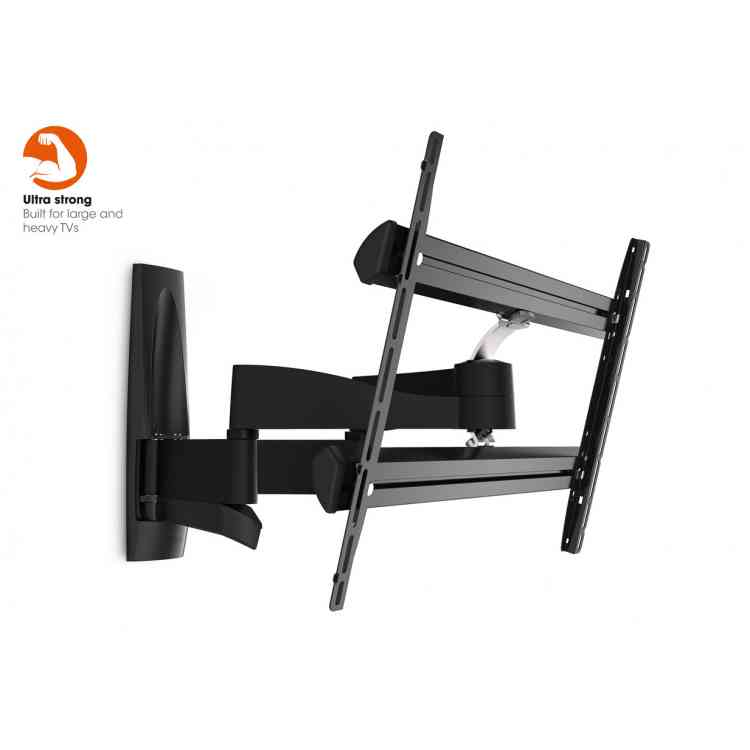 "Vogel\'s Wall 3350 Extra Thin Full-Motion Wall Bracket for 40"" to 65\"" TV\'s - Black"