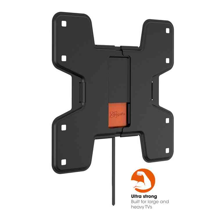 "Vogel\'s Wall 3105 Fixed TV Wall Bracket for 19"" to 43\"" TV\'s - Black"