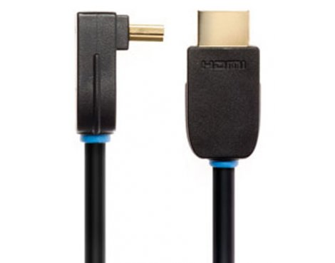 Techlink Nx2 Right Angled HDMI Cable 5.0m