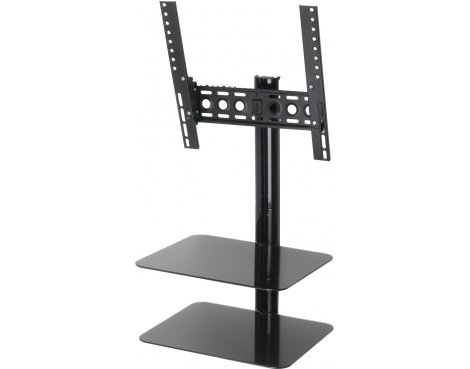 """AVF Universal All in One Tilt & Turn TV Bracket with Shelves for up to 42\"""" TVs"""