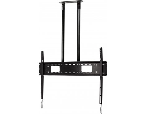 """B-Tech Extra-Large Flat Screen 3m Ceiling Mount for TVs up to 120\"""" - Black"""