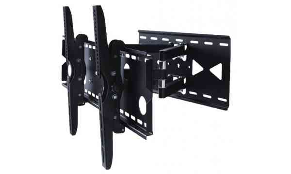 "Grade A1 - As new but box damaged TWIN ARM WALL MOUNT FOR 35"" - 70"" TV's"