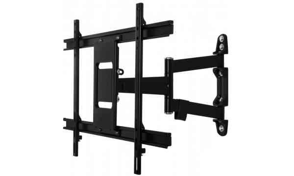 B-Tech Ventry BTV513/B Ultra-Slim Double Arm TV Bracket For Up To 55 inch TVs - Black