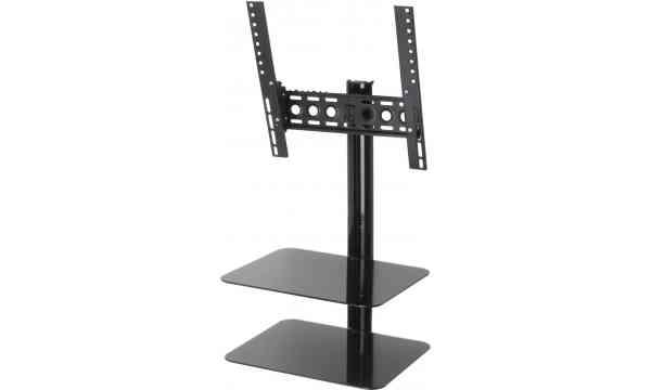 """AVF Universal All in One Tilt & Turn TV Bracket with Shelves for up to 42"""" TVs"""