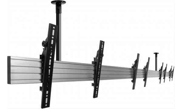 "B-Tech Menu Board 1.5m Ceiling Mounting System for upto 4x 32"" Screens"