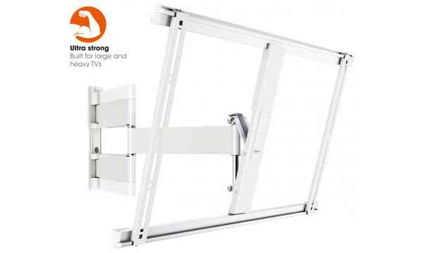 "Vogel's THIN 545 Extra Thin Full-Motion Wall Bracket for 40"" to 65"" - White"