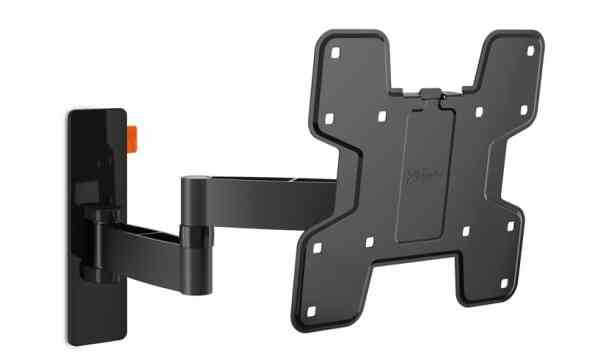 "Vogel's Wall 3145 Extra Thin Full-Motion Wall Bracket for 19"" to 40"" TV's - Black"