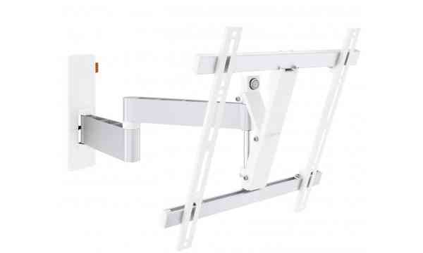 """Vogel's Wall 3245 Extra Thin Full-Motion Wall Bracket for 32"""" to 55"""" TV's - White"""