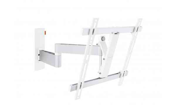"Vogel's Wall 3245 Extra Thin Full-Motion Wall Bracket for 32"" to 55"" TV's - White"