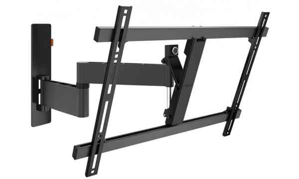 "Vogel's Wall 3345 ExtraThin Full-Motion Wall Bracket for 40"" to 65"" TV's - Black"