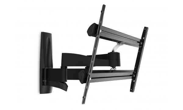"""Vogel's Wall 3350 Extra Thin Full-Motion Wall Bracket for 40"""" to 65"""" TV's - Black"""