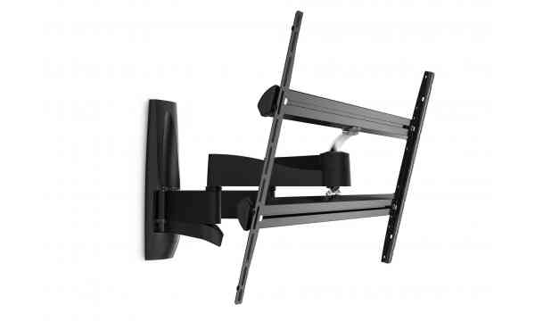 "Vogel's Wall 3450 Extra Thin Full-Motion Wall Bracket for 55"" to 100"" TV's - Black"