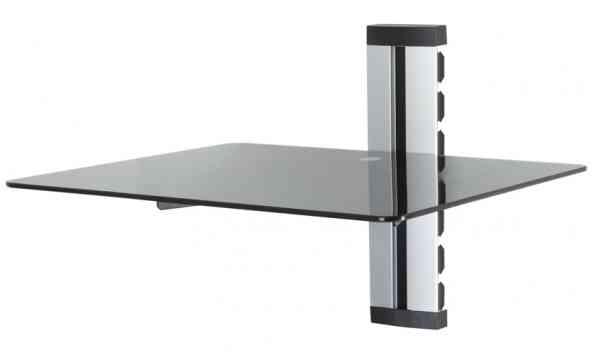 AVF AS100BS AV Shelf - Stackable - 1 Shelf