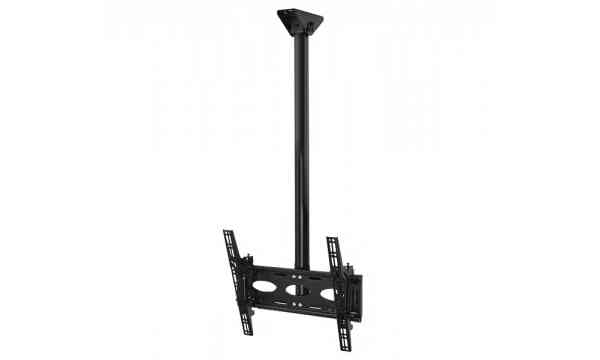 "B-Tech Universal Flat Screen Ceiling Mount with Tilt For upto 65"" TVs - 1.5m"