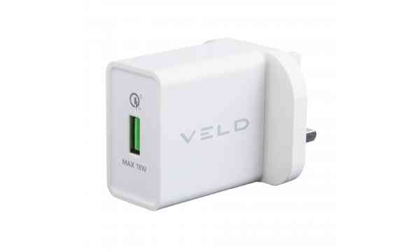 VELD VH18AW Super-Fast Wall Charger 18W USB QC3.0