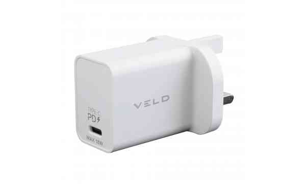 VELD VH18BW Super-Fast Wall Charger 18W USB-C PD