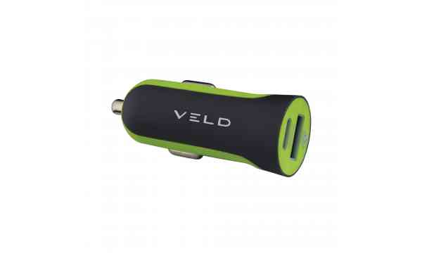 VELD VC48DG Super-Fast Car Charger 48W 2 Port