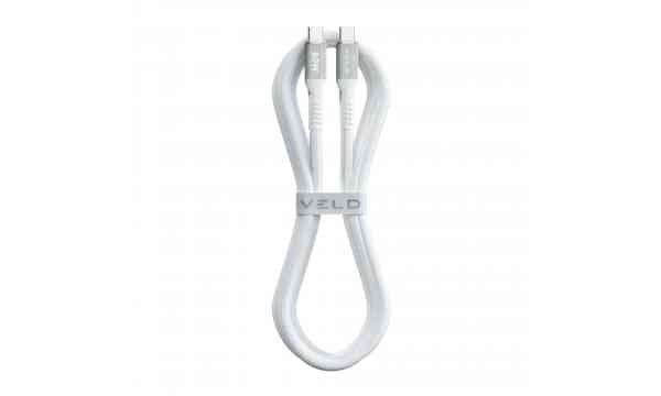 VELD VCC601 Super Fast Charging Cable - 60W - 1m - Type-C to Type-C