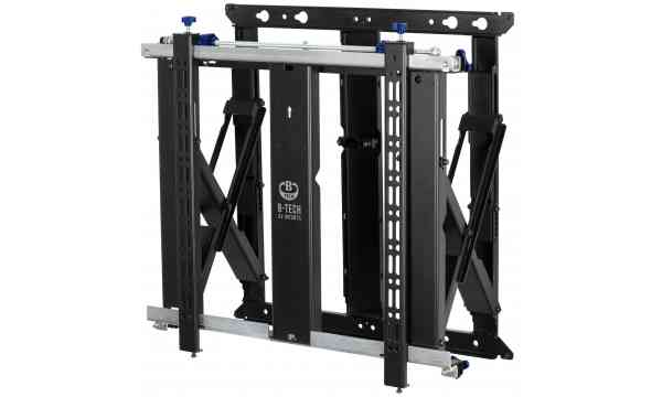 """B-Tech BT8312 V2 Slimline Soft-Open Full Service Video Wall Mount For Up To 70"""" Screens"""