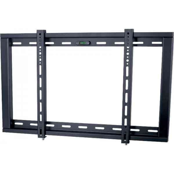 "UM104M Ultimate Mounts Black Fixed Wall Mount Bracket up to 70"" TV's"